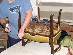 Cannon Upholstery Bethesda Montgomery County MD Upholster Furniture Couch  Chair Repair And Custom Upholstered Furniture, Maryland Bethesda, Potomac,  ...